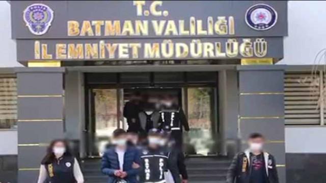 Batman'da siber dolandırıcılara eşzamanlı operasyon
