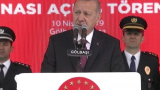 Cumhurbaşkanı Erdoğan'dan Gölbaşı'nda önemli açıklamalar